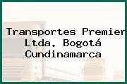 Transportes Premier Ltda. Bogotá Cundinamarca