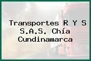 Transportes R Y S S.A.S. Chía Cundinamarca