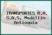 TRANSPORTES R.A. S.A.S. Medellín Antioquia