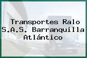 Transportes Ralo S.A.S. Barranquilla Atlántico