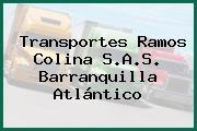 Transportes Ramos Colina S.A.S. Barranquilla Atlántico