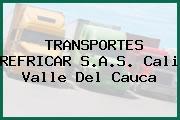 TRANSPORTES REFRICAR S.A.S. Cali Valle Del Cauca