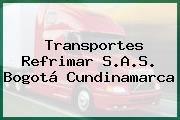 Transportes Refrimar S.A.S. Bogotá Cundinamarca