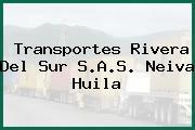 Transportes Rivera Del Sur S.A.S. Neiva Huila