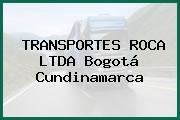 TRANSPORTES ROCA LTDA Bogotá Cundinamarca
