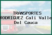 TRANSPORTES RODRIGUEZ Cali Valle Del Cauca