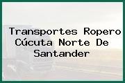Transportes Ropero Cúcuta Norte De Santander