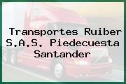 Transportes Ruiber S.A.S. Piedecuesta Santander