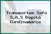Transportes Safo S.A.S Bogotá Cundinamarca