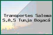 Transportes Salema S.A.S Tunja Boyacá