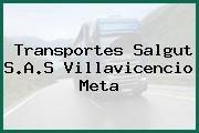 Transportes Salgut S.A.S Villavicencio Meta