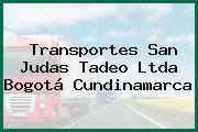 Transportes San Judas Tadeo Ltda Bogotá Cundinamarca