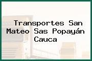 Transportes San Mateo Sas Popayán Cauca