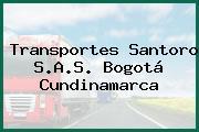 Transportes Santoro S.A.S. Bogotá Cundinamarca