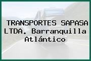 TRANSPORTES SAPASA LTDA. Barranquilla Atlántico