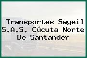 Transportes Sayeil S.A.S. Cúcuta Norte De Santander
