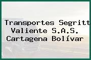 Transportes Segritt Valiente S.A.S. Cartagena Bolívar