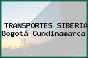 TRANSPORTES SIBERIA Bogotá Cundinamarca