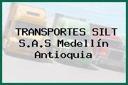 TRANSPORTES SILT S.A.S Medellín Antioquia