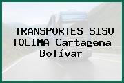 TRANSPORTES SISU TOLIMA Cartagena Bolívar
