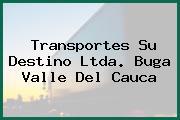 Transportes Su Destino Ltda. Buga Valle Del Cauca