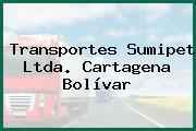 Transportes Sumipet Ltda. Cartagena Bolívar