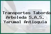 Transportes Taborda Arboleda S.A.S. Yarumal Antioquia
