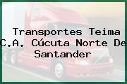Transportes Teima C.A. Cúcuta Norte De Santander