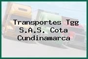 Transportes Tgg S.A.S. Cota Cundinamarca
