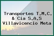 Transportes T.M.C. & Cia S.A.S Villavicencio Meta