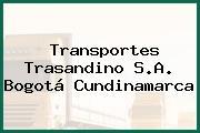 Transportes Trasandino S.A. Bogotá Cundinamarca