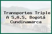 Transportes Triple A S.A.S. Bogotá Cundinamarca