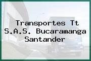 Transportes Tt S.A.S. Bucaramanga Santander