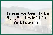 Transportes Tuta S.A.S. Medellín Antioquia