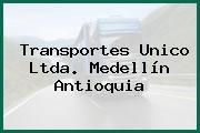 Transportes Unico Ltda. Medellín Antioquia