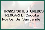 TRANSPORTES UNIDOS RIOCARFE Cúcuta Norte De Santander
