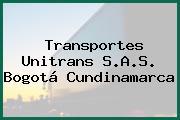 Transportes Unitrans S.A.S. Bogotá Cundinamarca