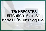 TRANSPORTES URICARGA S.A.S. Medellín Antioquia