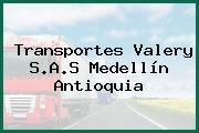 Transportes Valery S.A.S Medellín Antioquia