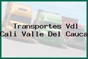 Transportes Vdl Cali Valle Del Cauca