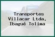 Transportes Villacar Ltda. Ibagué Tolima