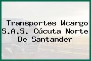 Transportes Wcargo S.A.S. Cúcuta Norte De Santander