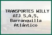 TRANSPORTES WILLY ATJ S.A.S. Barranquilla Atlántico