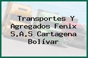 Transportes Y Agregados Fenix S.A.S Cartagena Bolívar