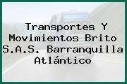 Transportes Y Movimientos Brito S.A.S. Barranquilla Atlántico