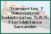 Transportes Y Suministros Industriales S.A.S. Floridablanca Santander