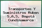 Transportes Y Suministros Ruben S.A.S. Bogotá Cundinamarca