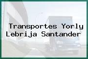 Transportes Yorly Lebrija Santander