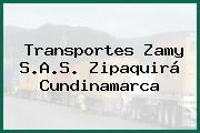 Transportes Zamy S.A.S. Zipaquirá Cundinamarca