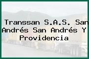 Transsan S.A.S. San Andrés San Andrés Y Providencia